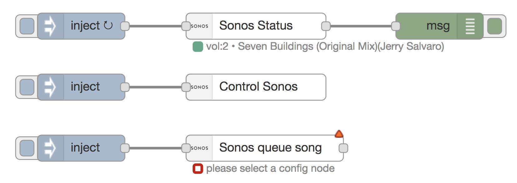 Node Red Contrib Better Sonos Wiring Diagram Usage Screenshot