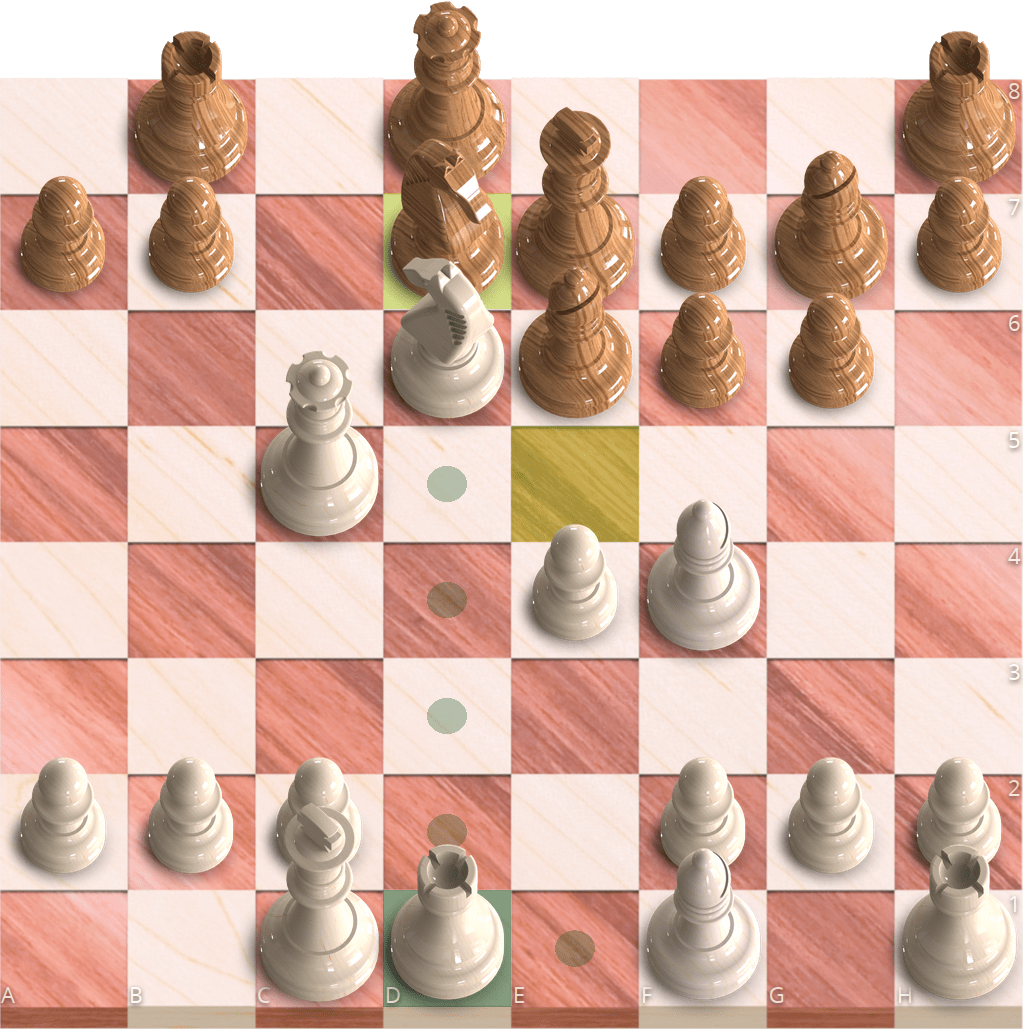Chessground in 3D mode