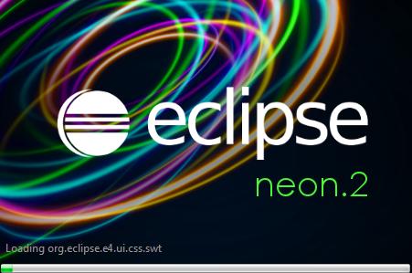 Eclipse Neon starting Logo