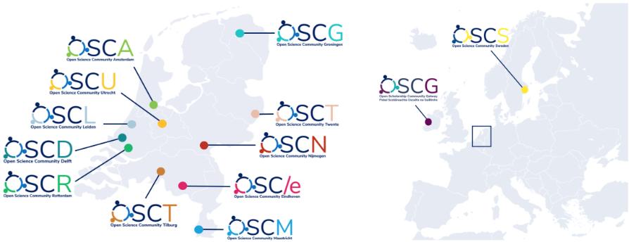 Open Science Communities worldwide