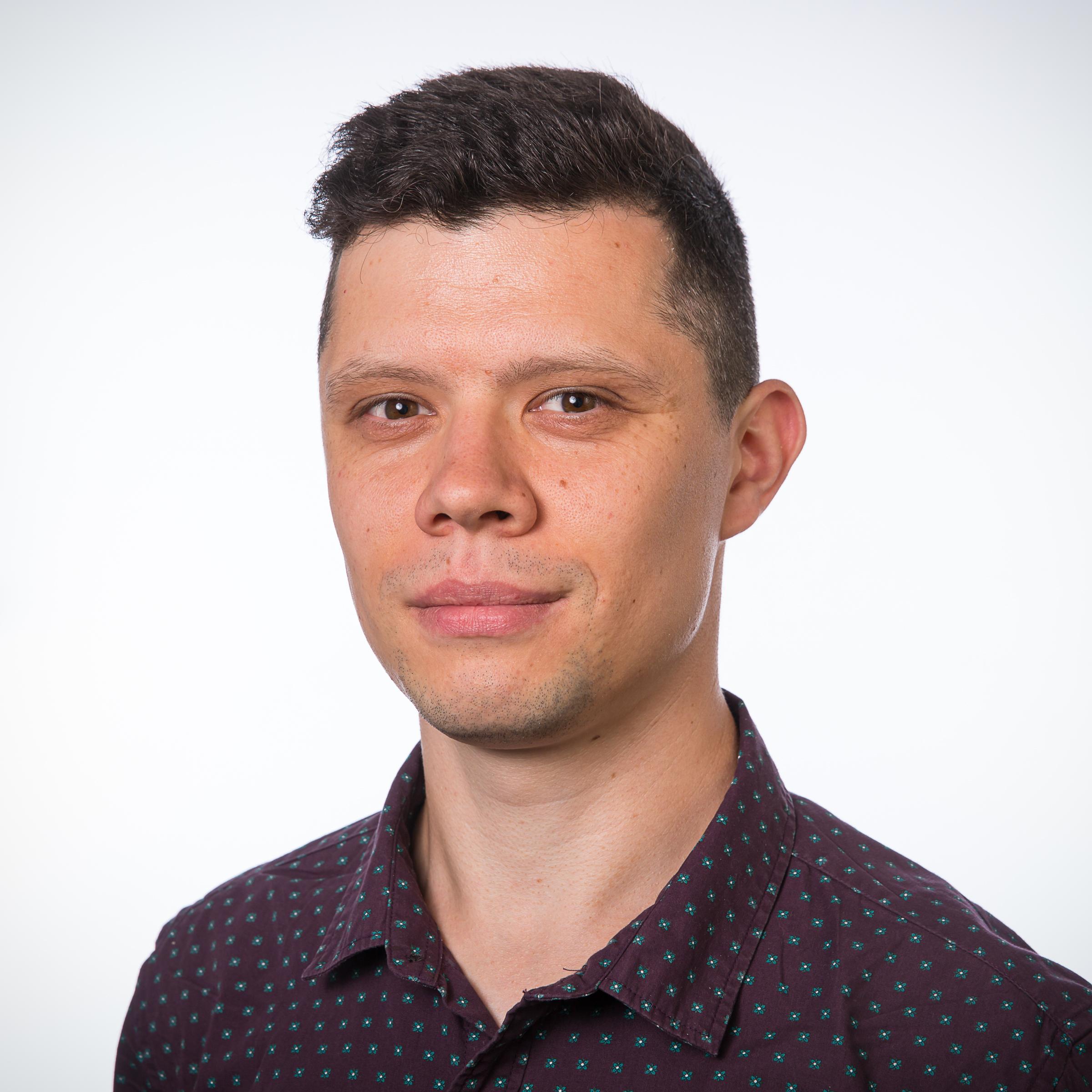 The photo of Arkady Zgonnikov