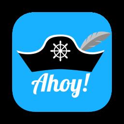 Ahoy! Logo