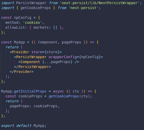 screenshot of next-persist at _app level