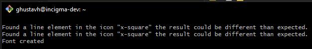 Webfont Error