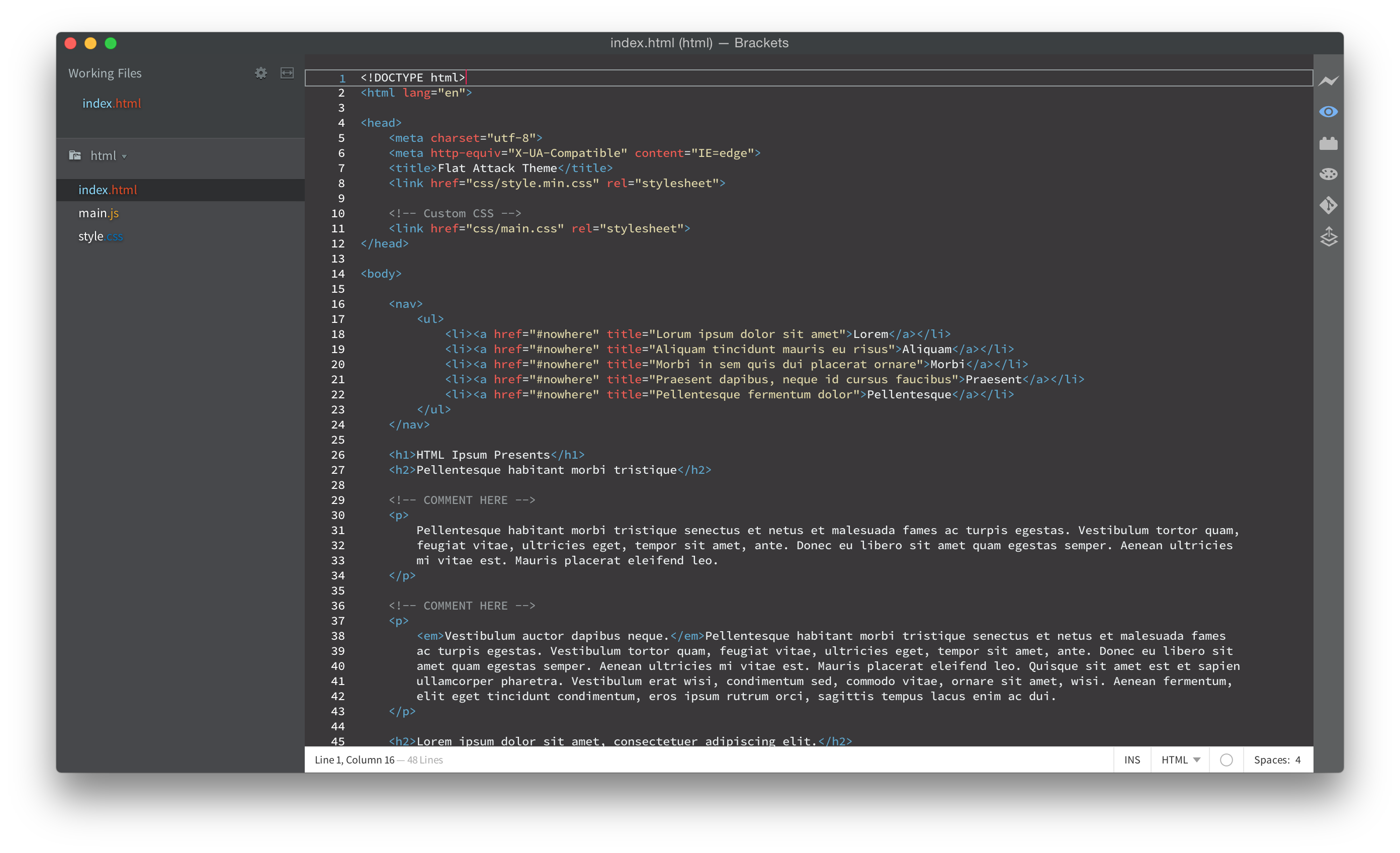 HTML Screenshot