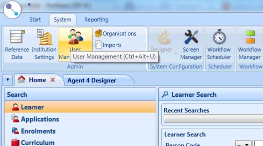 Access user management