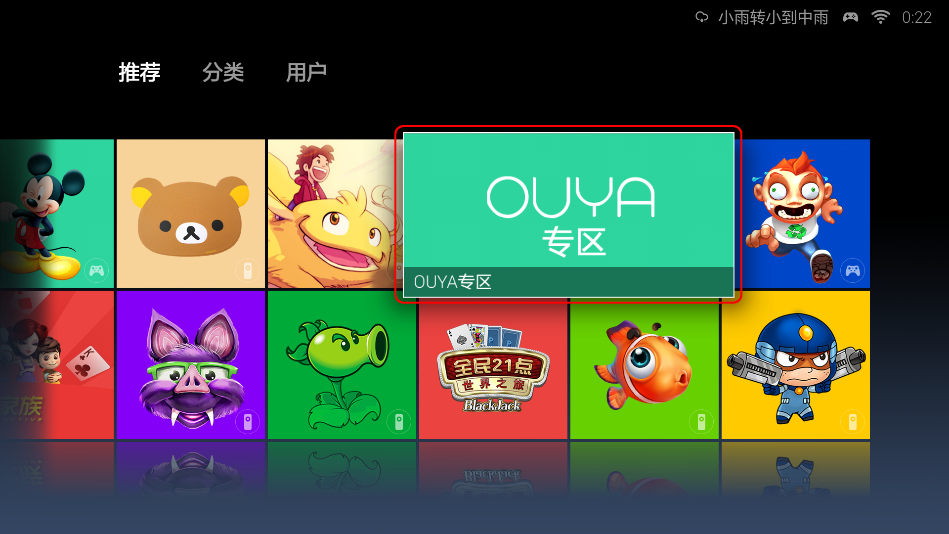 OUYA Category