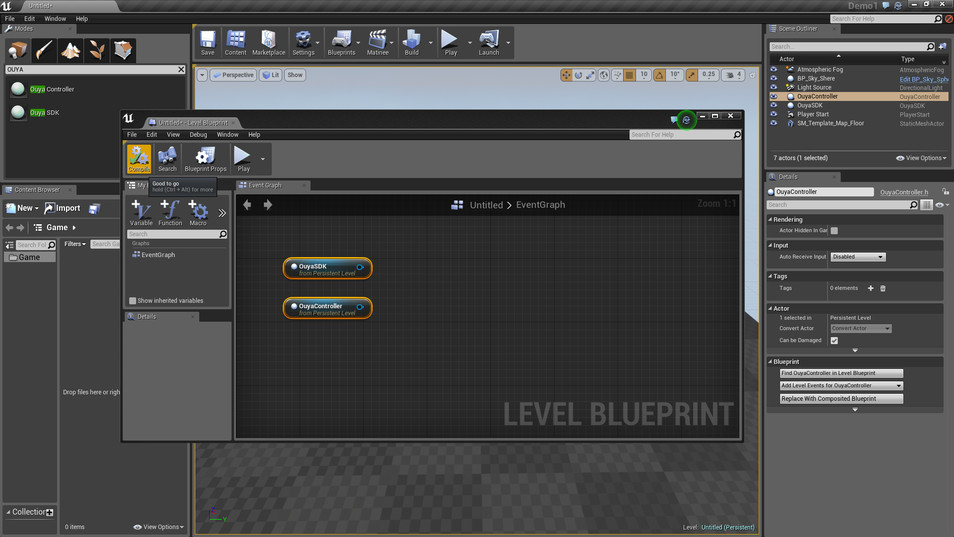 Compile Blueprint