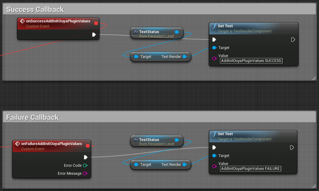 Invoke blueprint delegate ue4 answerhub the expected result should have been the custom event was invoked and the status text should be set to addinitouyapluginvalues success malvernweather Images