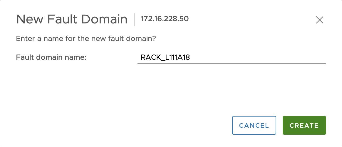 nom fault domain