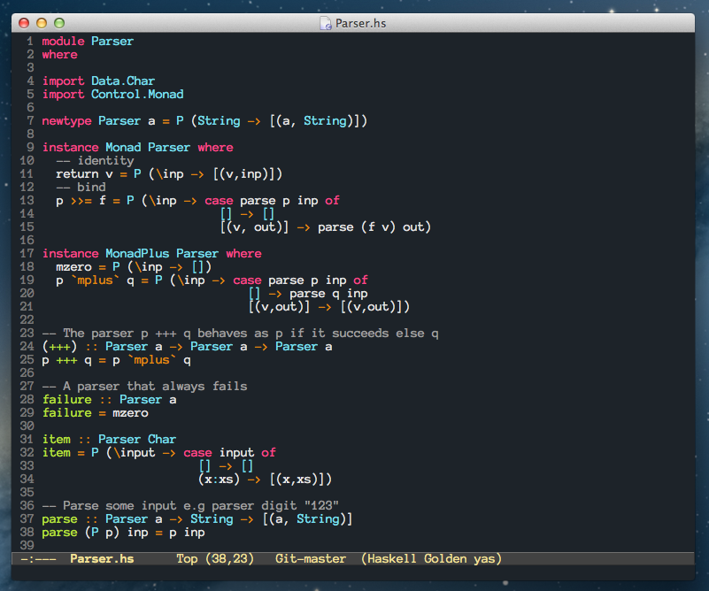 owainlewis/emacs-color-themes A collection of custom themes