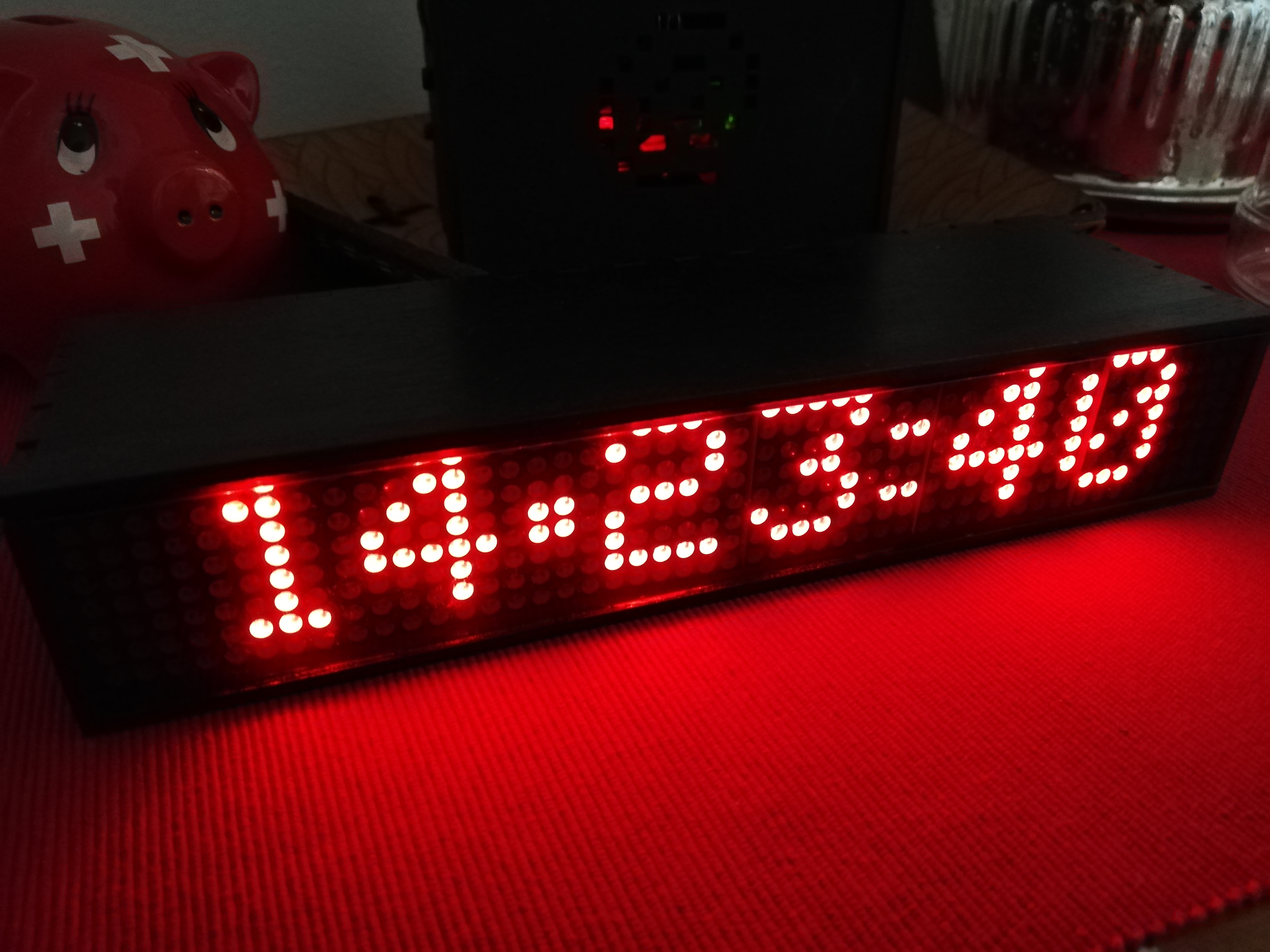 8x8 Dotmatrix Scrolling Led Display Electronic Projects