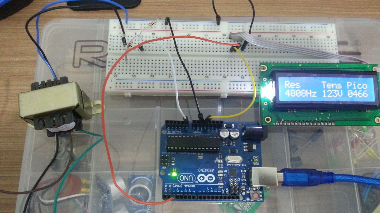 Energy meter using arduino ace