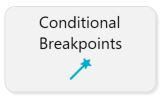 Conditional breakpoints button