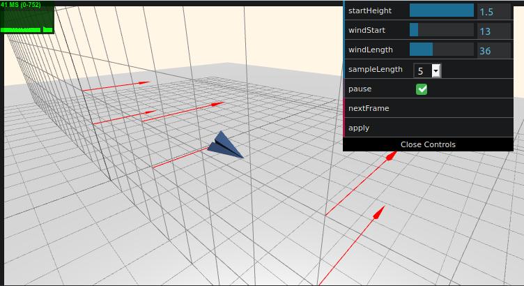 Screenshot of demo