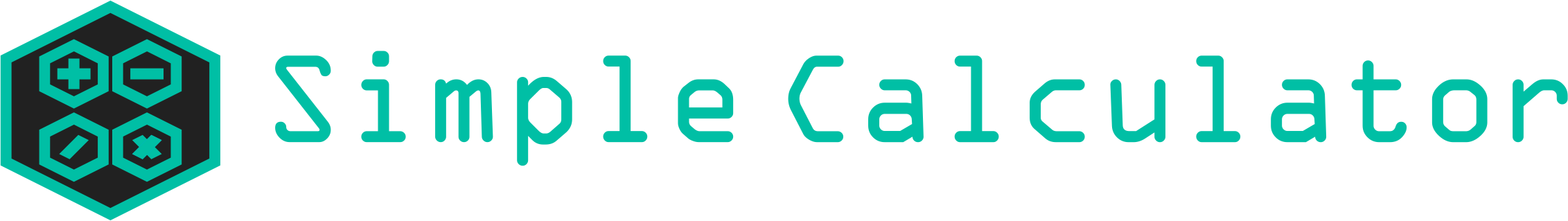 Logo Simple Java Calculator