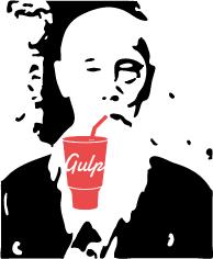 Mr Sakugawa enjoying the taste of gulp