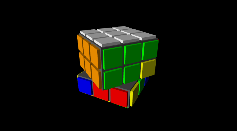 solving the cube image