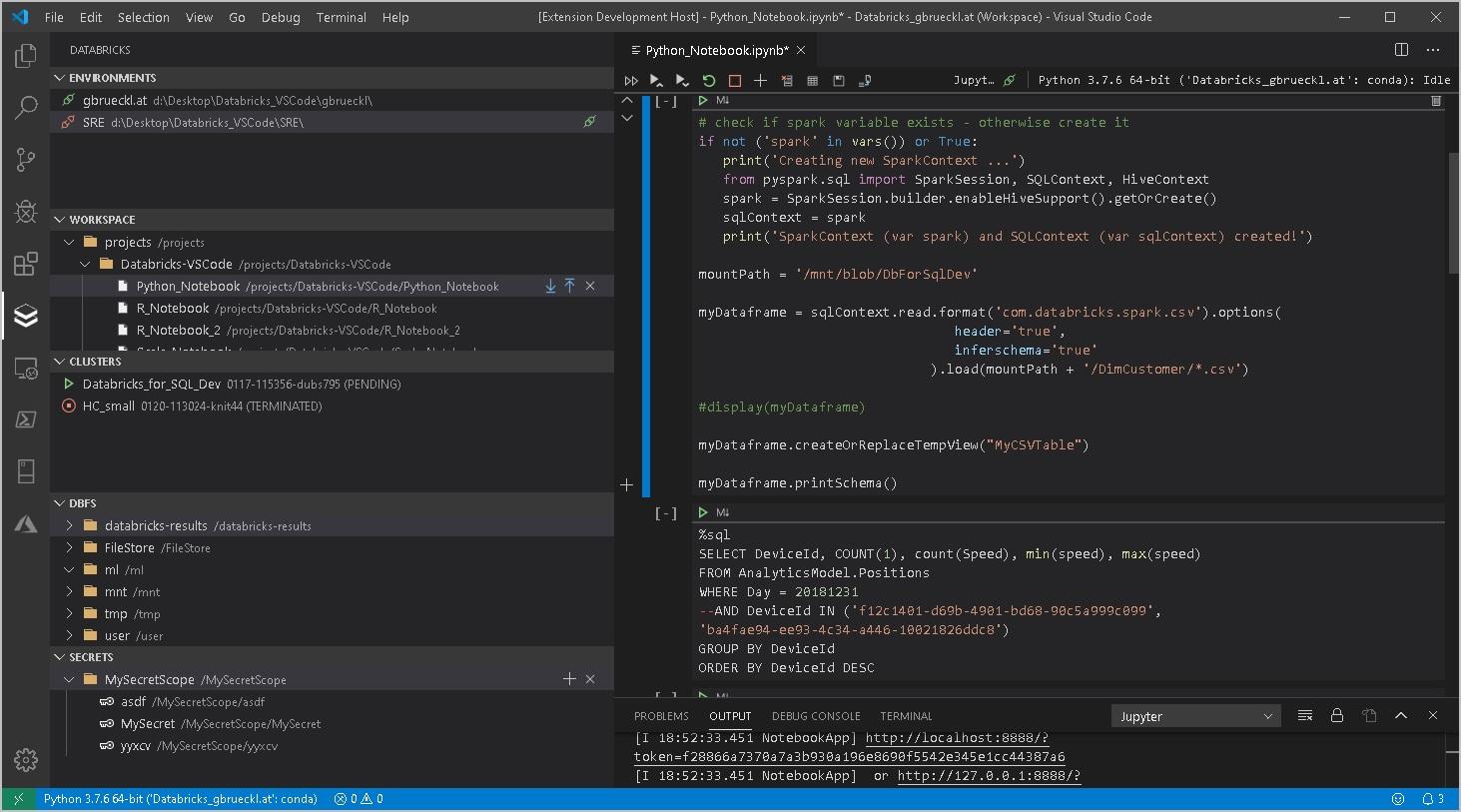 Databricks-VSCode