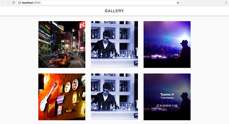 GitHub - palampinen/partygallery: React Image Gallery