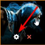 Select Gear Icon