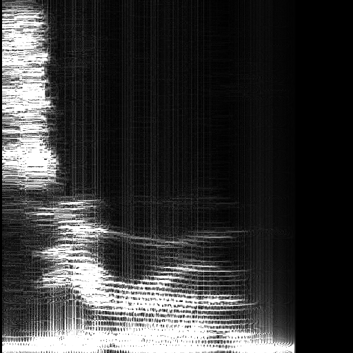 Sample spectrogram, That's what she said, too laid?