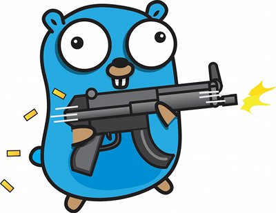 gopher with a gun