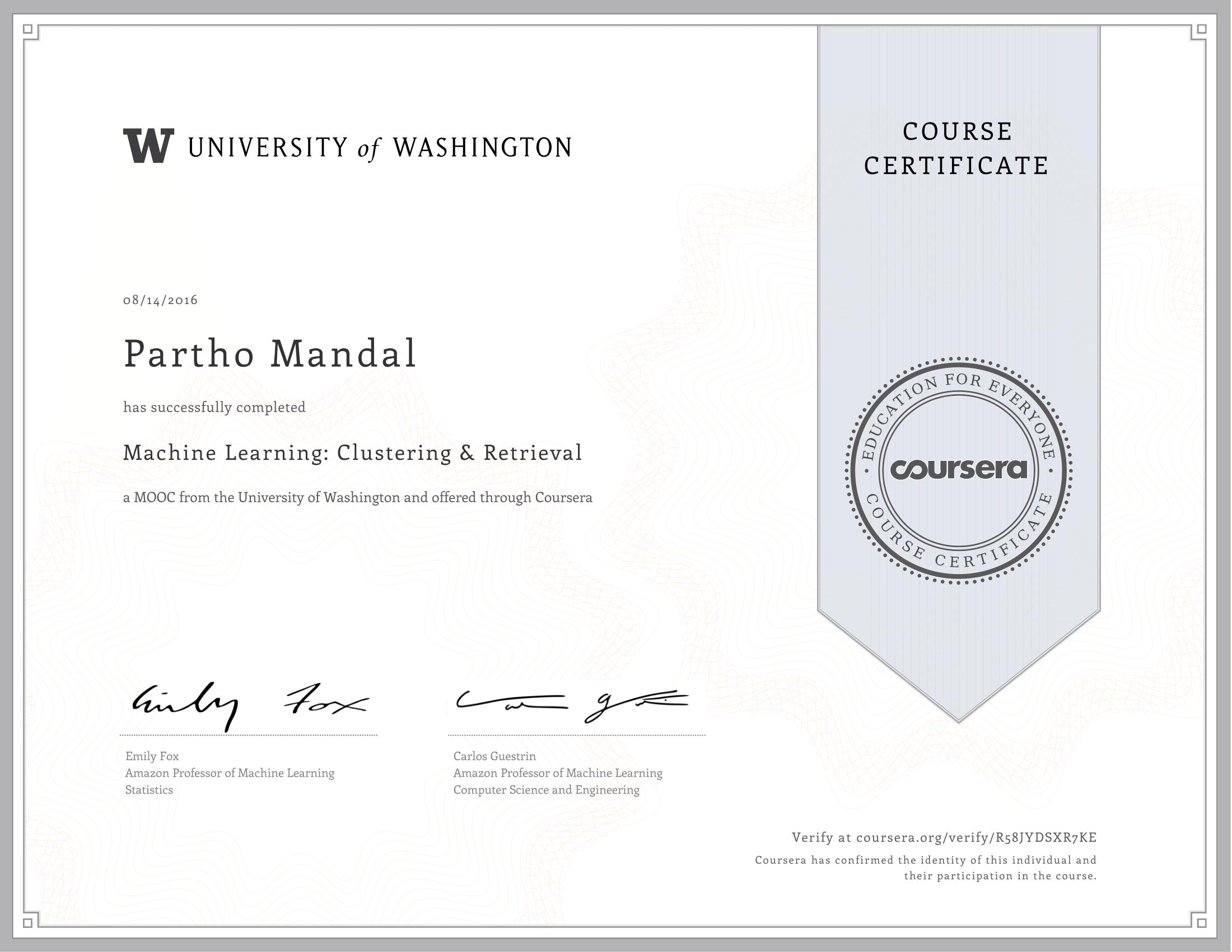Coursera Machine Learning Github - Quantum Computing