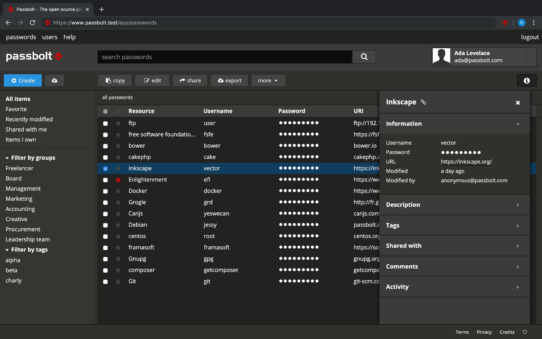 GitHub - passbolt/passbolt_browser_extension: Passbolt browser