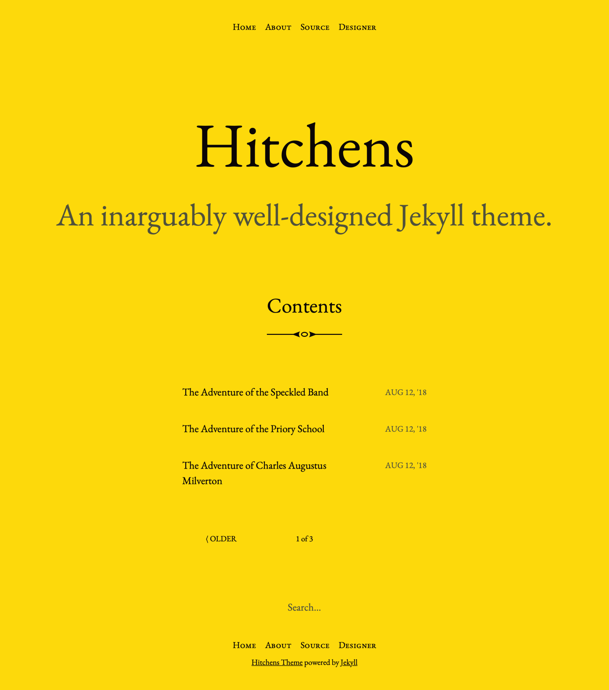 Hitchens Preview