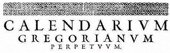 Gregorian Page