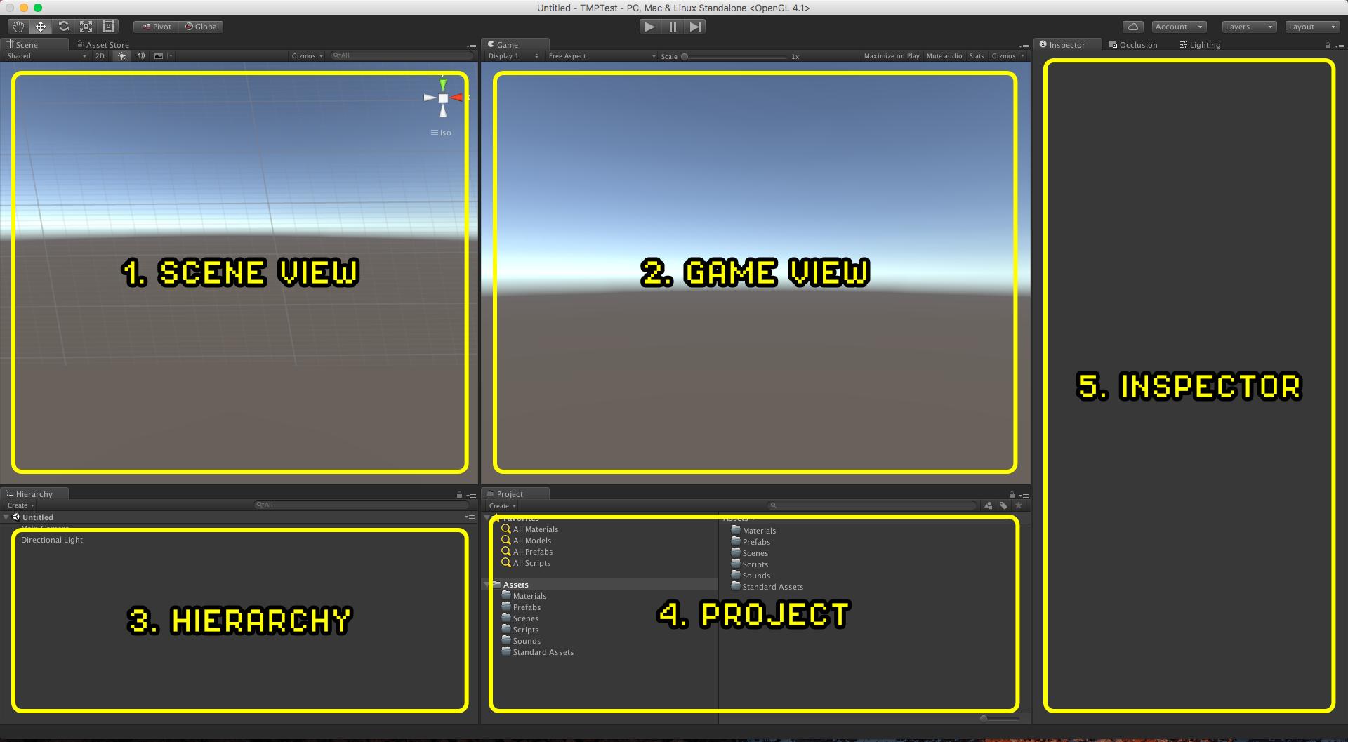 Unity Interface