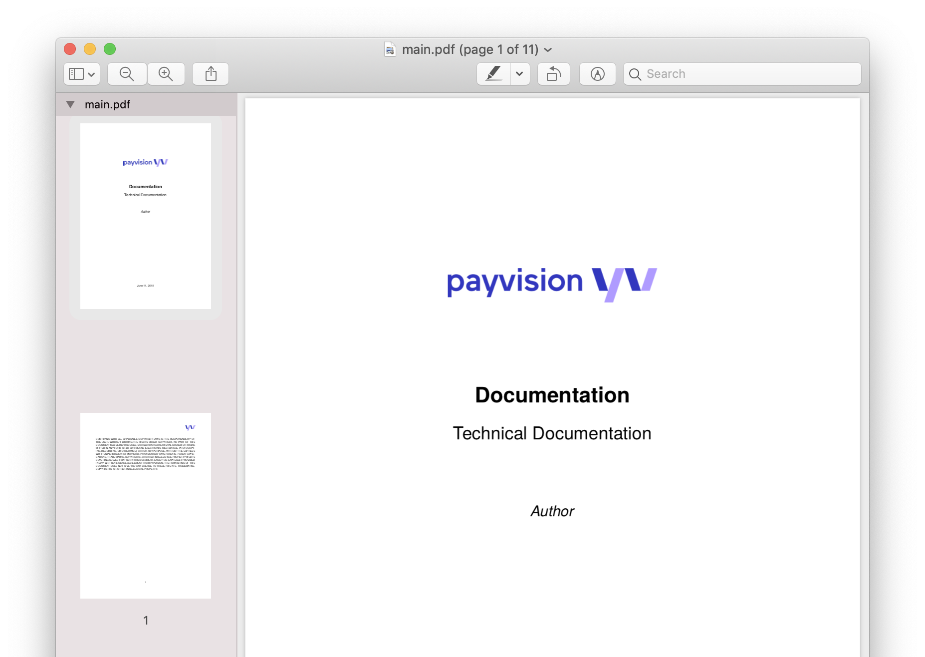 Technical Documentation Sample from raw.githubusercontent.com