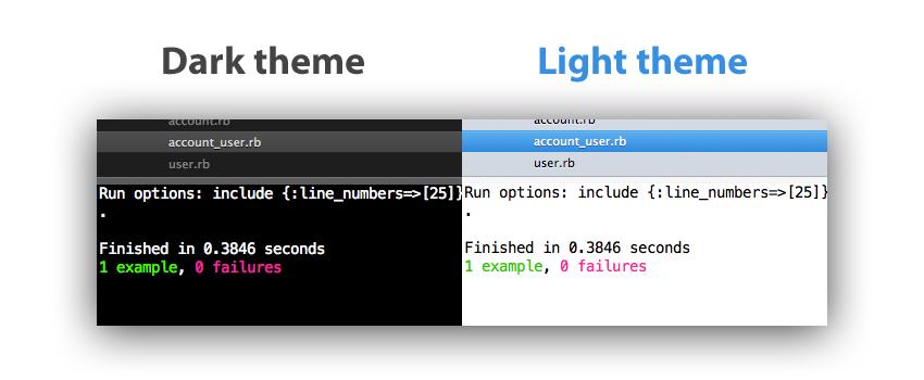 Sode Theme + RubyTest Light&Dark