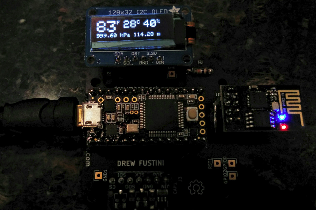 board closeup - tilt