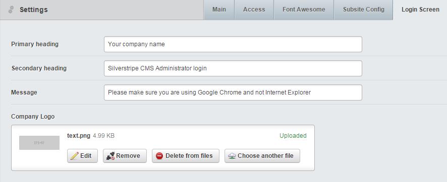 login-screen-settings