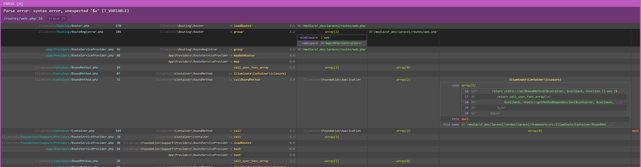 GitHub - peraleks/laravel-pretty-errors: Error formatter for