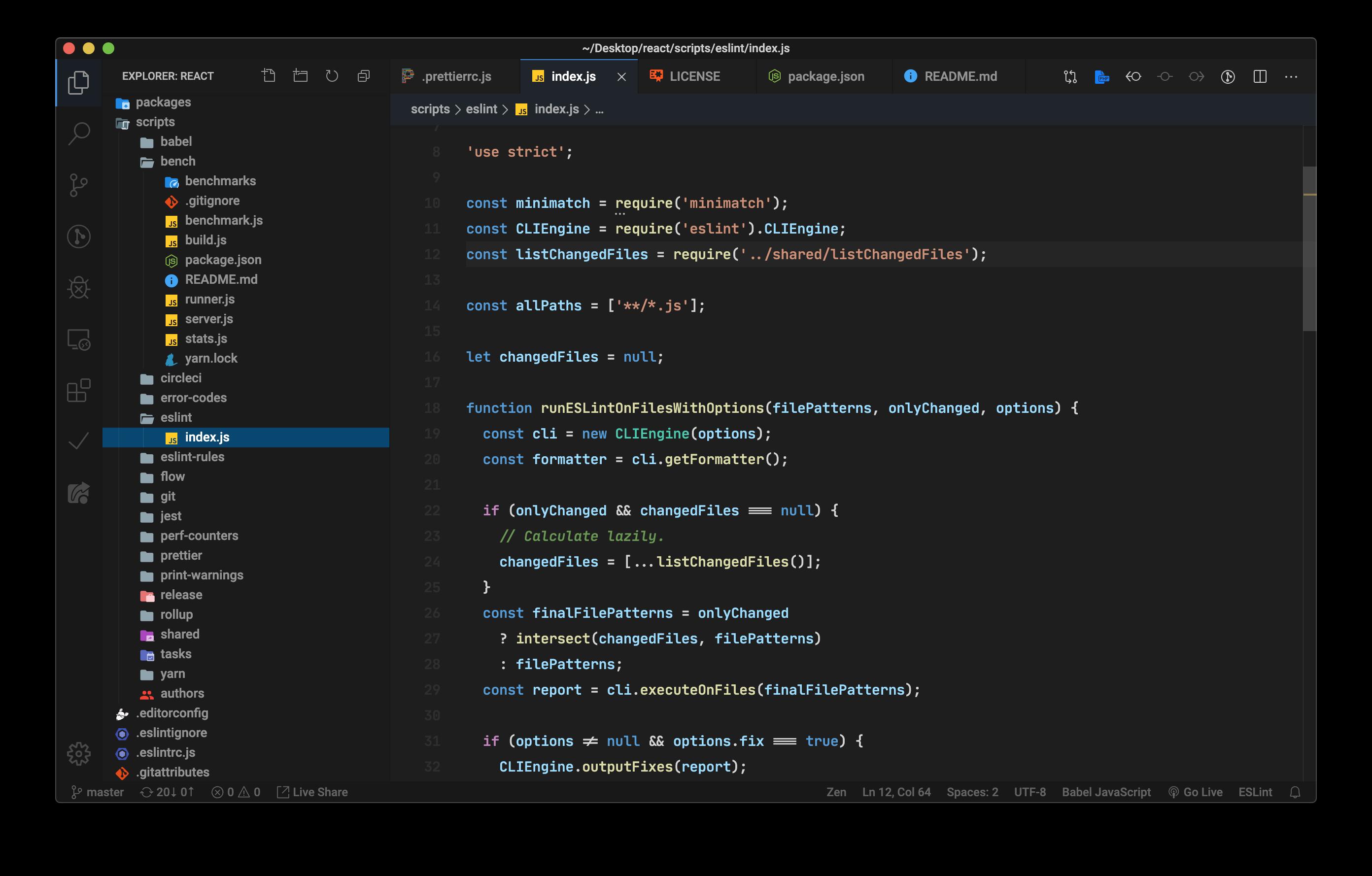 Syntax highlight: Javascript