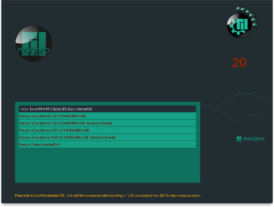 Pretty Grub - New Grub Layout and theme - Themes - Manjaro Linux Forum