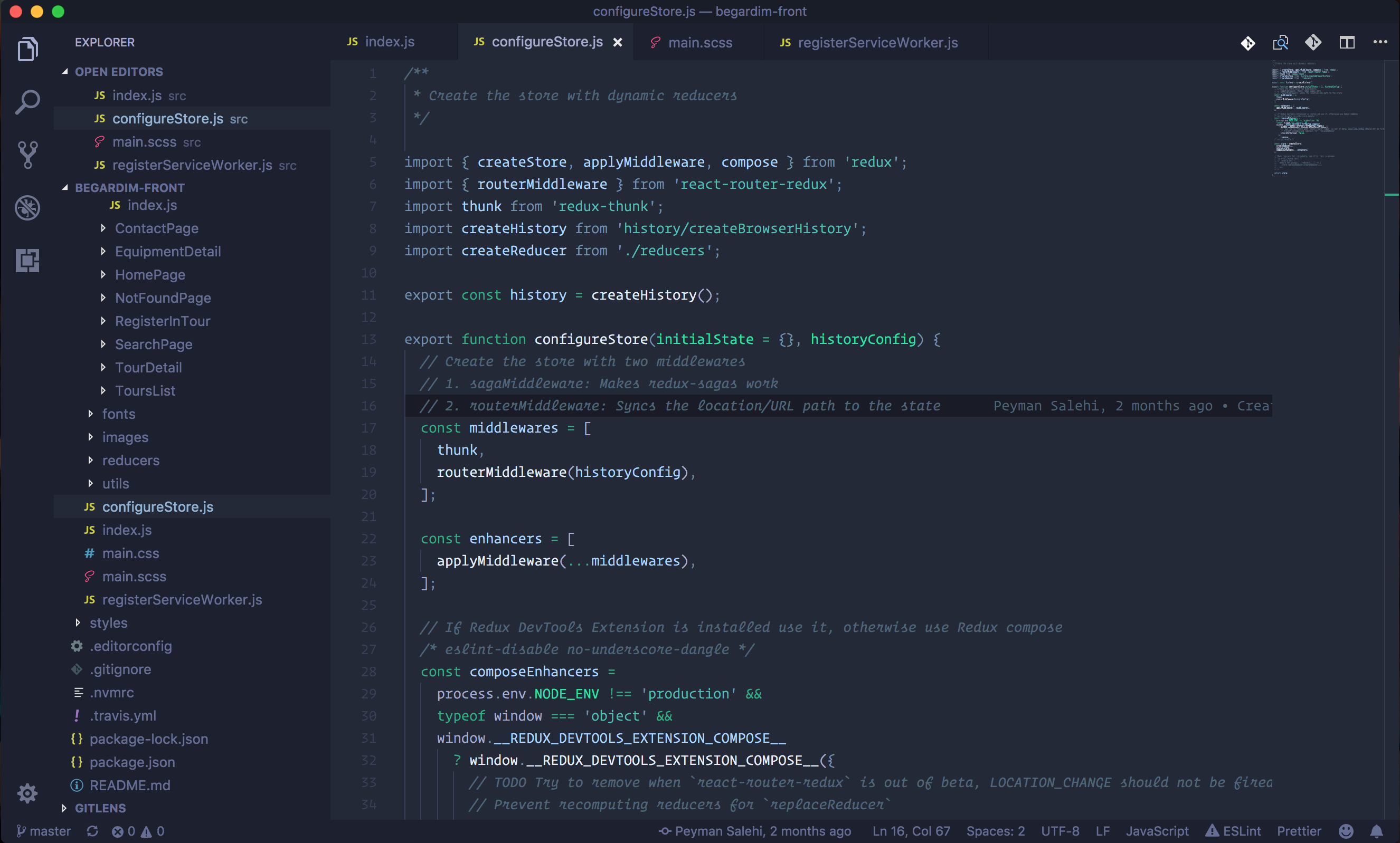 Blueberry VS Code theme
