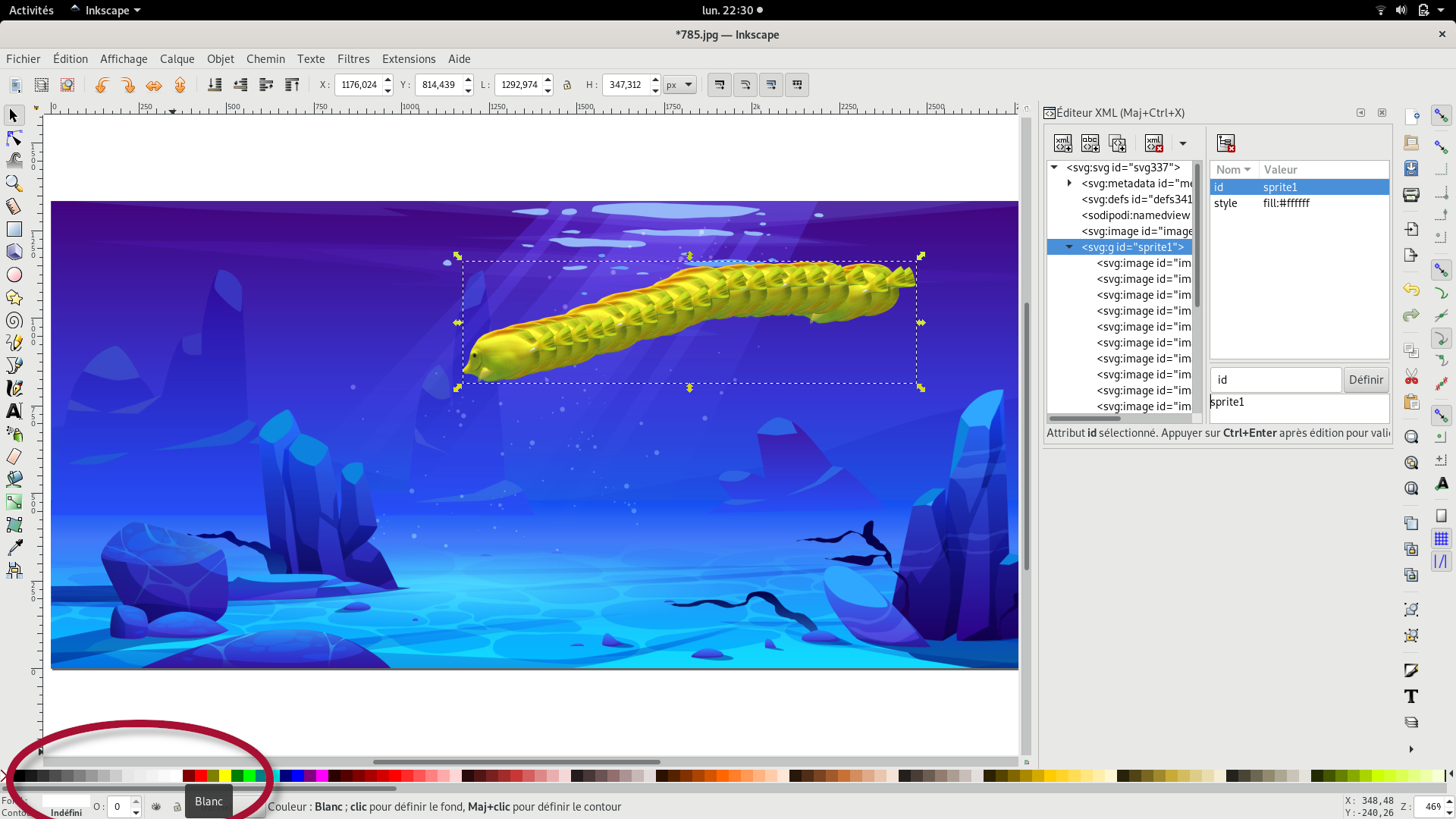 inkscape sprite