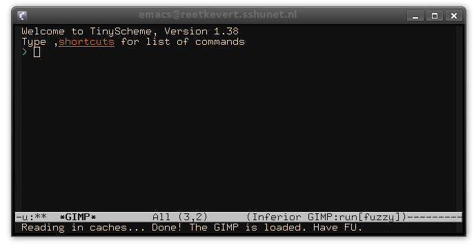 First encounter with the REPL