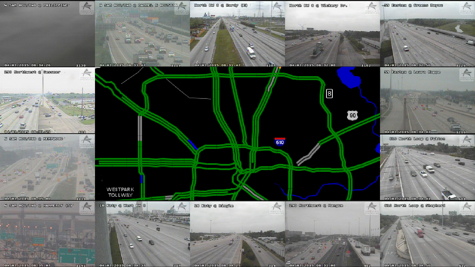 Github Pganssle Traffic Wallpaper A Script That Grabs The Houston