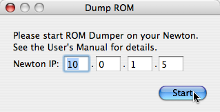 Dump ROM Panel