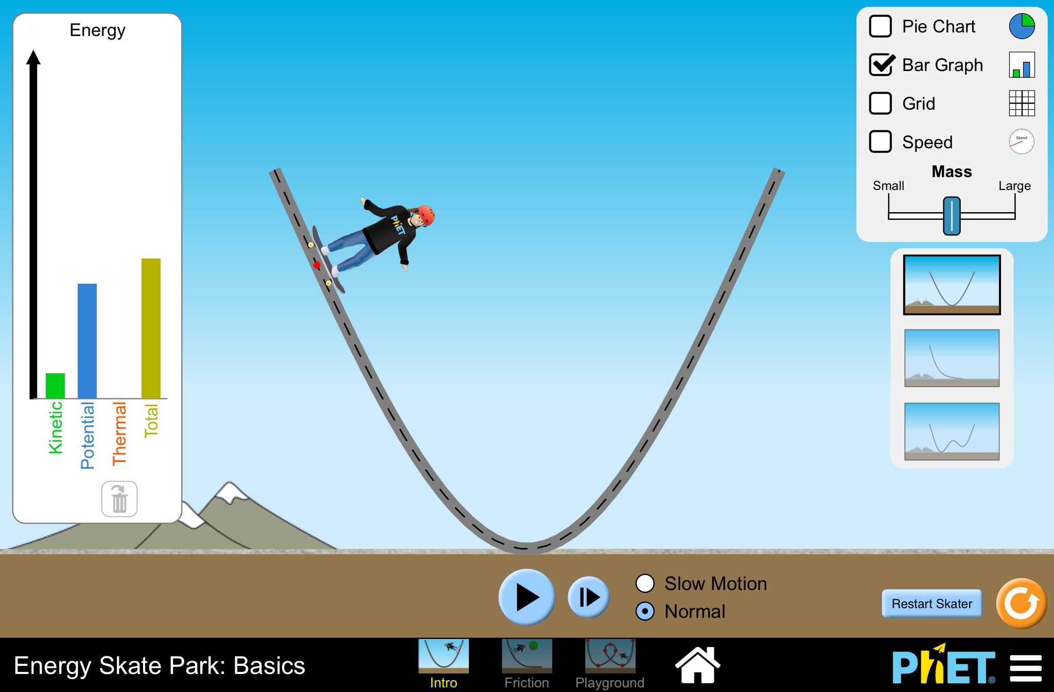 """GitHub - phetsims/energy-skate-park-basics: """"Energy Skate ..."""