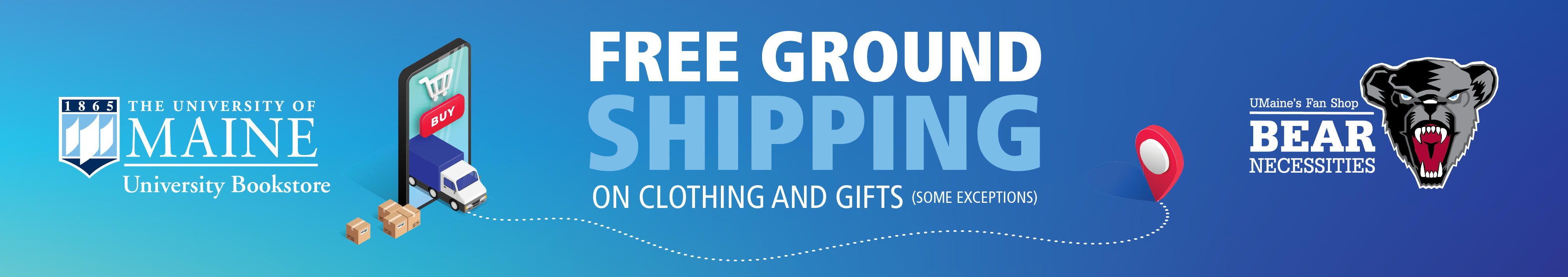 Free shipping on select items!