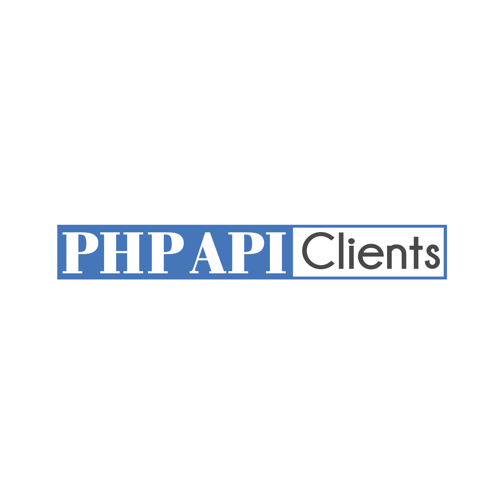 PHP API Clients logo