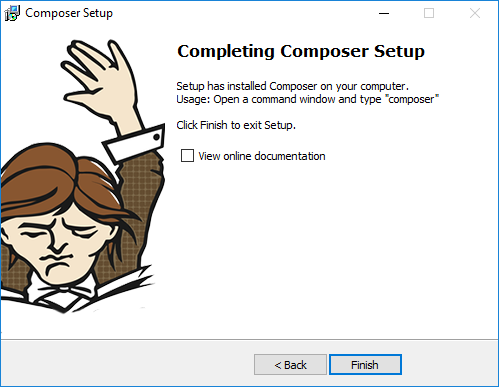Composer completing