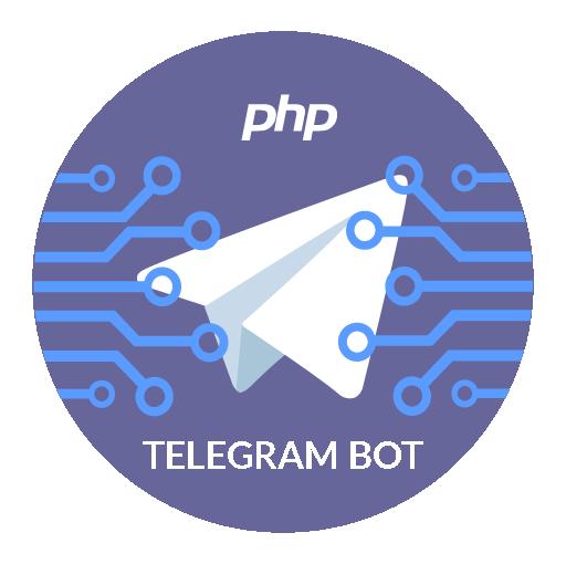 PHP Telegram Bot logo
