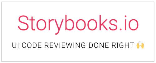 Storybooks.io - UI Code Reviewing Done Right